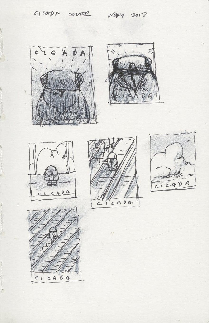 Bocetos, Shaun Tan