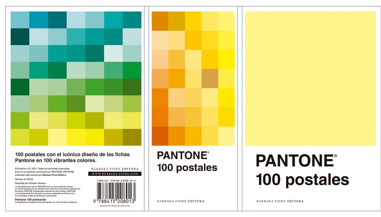 PANTONE 100 POSTALES - Barbara Fiore Editora